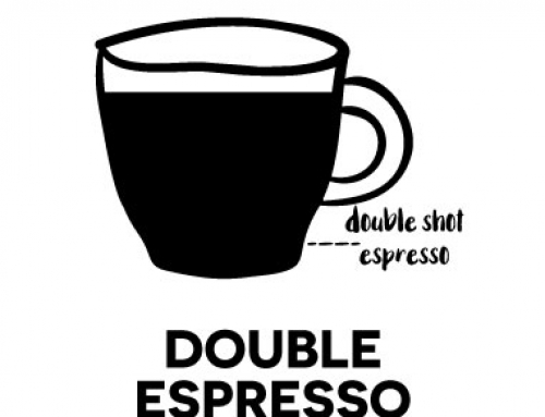 – Double Espresso –Also called a 'Doppio', this is a double size espresso drink
