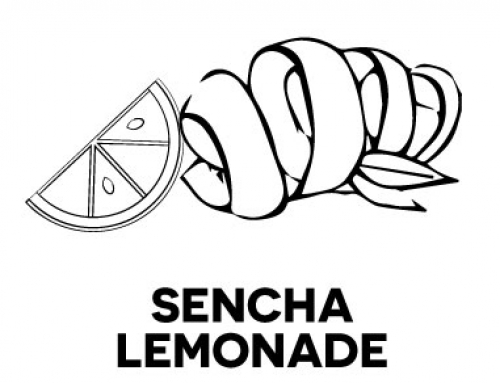 – Sencha lemonade –This very special fresh Green Tea creation comes with golden lemon peel & fresh lemon granules-served as a refreshing replacement to the classic Green Tea